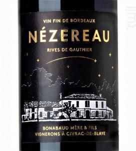 Nézereau • Rives de Gauthier - Domaine Bonabaud - 2018 - Rouge