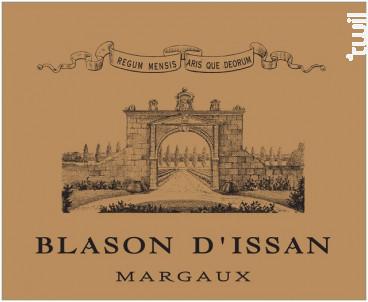 Blason d'Issan - Château d'Issan - 2014 - Rouge