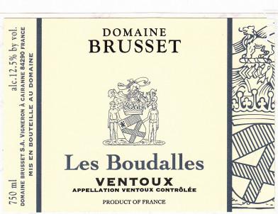 Les Boudalles - Domaine Brusset - 2017 - Rouge