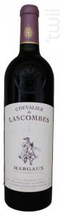 Chevalier de Lascombes - Château Lascombes - 2016 - Rouge