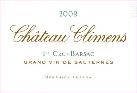 Château Climens - Château Climens - 2009 - Blanc