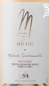 Cuvée M - Marrenon - Non millésimé - Effervescent