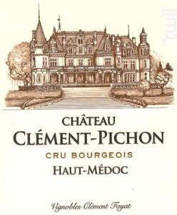 Château Clément-Pichon - Château Clément-Pichon - 2014 - Rouge