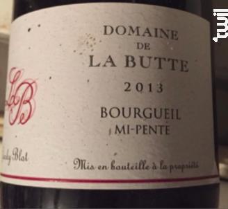Bourgueil Mi-Pente - Domaine de la Butte - 2018 - Rouge