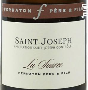 La Source - Ferraton Père & Fils - 2015 - Blanc