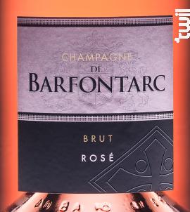 Rosé Brut - Champagne de Barfontarc - Non millésimé - Effervescent