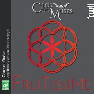 Fruitissime - Clos des Mures - 2017 - Rouge