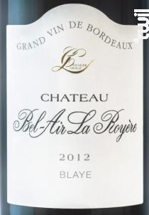 Château Bel Air La Royère - CHÂTEAU BEL AIR LA ROYERE - 2006 - Rouge