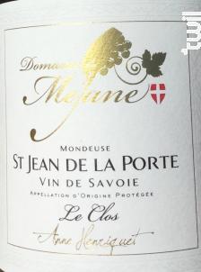 Le Clos - Domaine  de Méjane - 2018 - Rouge