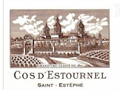 Cos d'Estournel - Cos d'Estournel - 2001 - Rouge