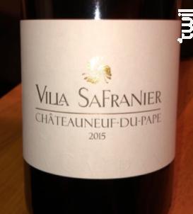 Châteauneuf-du-Pape - Villa Safranier - 2016 - Rouge
