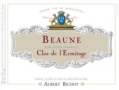 Beaune Clos de l'Ermitage - Albert Bichot - 2018 - Rouge