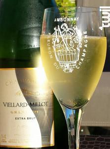 Extra Brut Grand-Cru - Champagne Viellard-Millot - Non millésimé - Effervescent