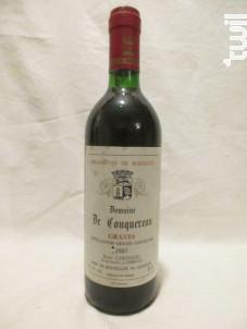 Graves - Domaine de Couquereau - 1987 - Rouge