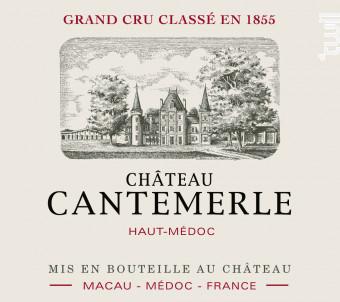 Château Cantemerle - Château Cantemerle - 2018 - Rouge