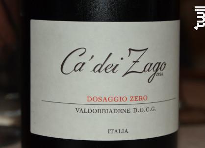 Dosaggio Zéro - Ca dei Zago - 2016 - Effervescent