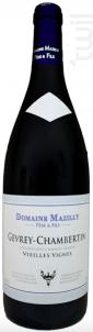 Gevrey-Chambertin Vieilles Vignes - Domaine Mazilly Père & Fils - 2017 - Rouge