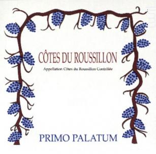 Côtes-du-Roussillon - Primo Palatum - 1999 - Rouge