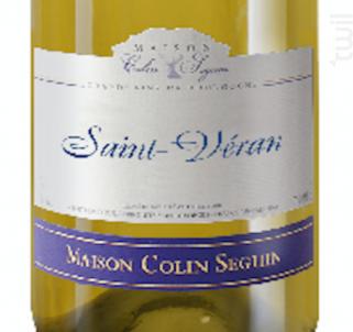 Saint Véran - Terroir - Maison Colin Seguin - Non millésimé - Blanc