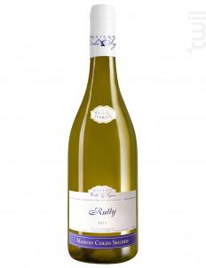 Rully - Terroir - Maison Colin Seguin - 2012 - Blanc