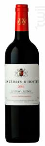 Les cèdres d'Hosten - Château Fourcas Hosten - 2014 - Rouge