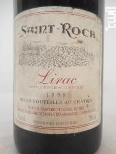 Château St Roch - Château Saint Roch - 1992 - Rouge