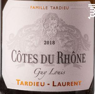 Guy Louis - Maison Tardieu-Laurent - 2018 - Blanc