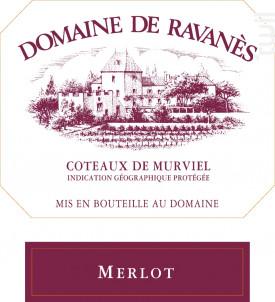Merlot - Domaine de Ravanès - 2016 - Rouge
