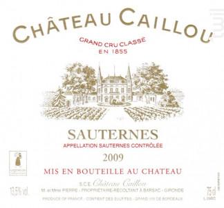 Château Caillou - Château Caillou - 1975 - Blanc