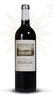 Le Baron de Rouillac - Château de Rouillac - 2016 - Rouge