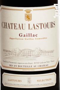 Château Lastours Sélection - Château Lastours - 2016 - Rouge