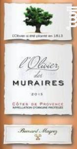 L'Olivier - Domaine des Muraires - Bernard Magrez - Chateau Des Muraires - 2019 - Rosé
