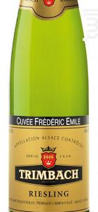 Trimbach Riesling Cuveé Frederic Emile - Trimbach - 2012 - Blanc