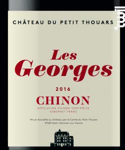 Les Georges - Château Du Petit Thouars - 2017 - Rouge