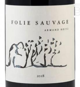 Folie Sauvage - Domaine Heitz Lochardet - 2018 - Rouge