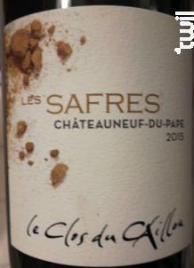 Les Safres - Clos du Caillou - 2015 - Rouge