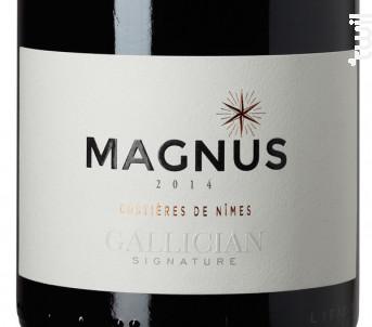 MAGNUS - La Cave de Gallician - 2014 - Rouge