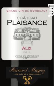 Cuvée Alix - Bernard Magrez- Château Plaisance - 2011 - Rouge