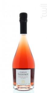 Rosé de saignée - Champagne Geoffroy - Non millésimé - Effervescent
