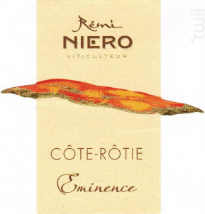 Eminence - Domaine Niero - 2017 - Rouge