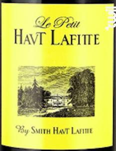 Le Petit Haut Lafitte - Château Smith Haut Lafitte - 2016 - Rouge