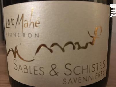 Sables & Schistes - Domaine Loïc Mahé - 2016 - Blanc