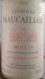 Château Maucaillou - Château Maucaillou - 2004 - Rouge
