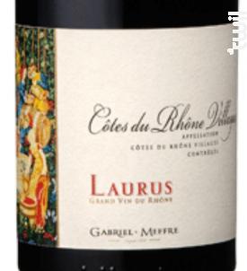 Côtes du Rhône Villages - Laurus - Maison Gabriel Meffre - 2015 - Rouge