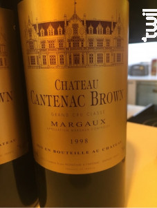 Brio de Cantenac Brown - Château Cantenac Brown - 1999 - Rouge