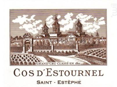 Cos d'Estournel - Cos d'Estournel - 2010 - Rouge