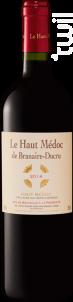 Le Haut Médoc de Branaire-Ducru - Château Branaire-Ducru - 2013 - Rouge