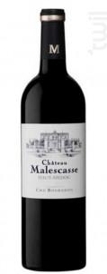 Chateau Malescasse - Château Malescasse - 2017 - Rouge