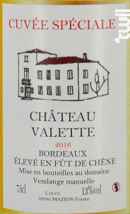 Manoir de la Valette Rosé - Manoir de Valette - 2015 - Rosé