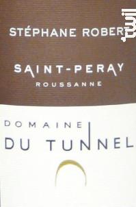 Roussanne - Domaine du Tunnel - 2018 - Blanc